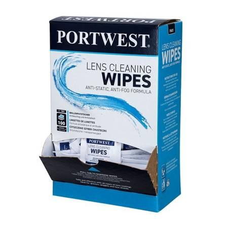 Chusteczki do czyszczenia okularów PA01 Portwest