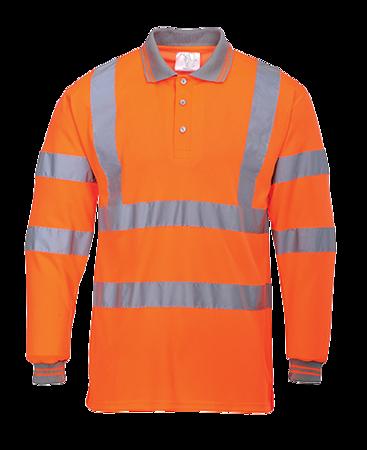 Koszulka robocza odblaskowa polo S277 Portwest
