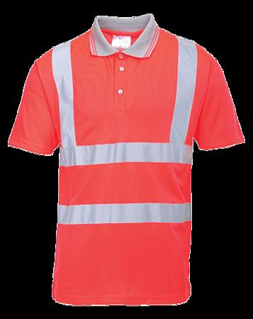 Koszulka robocza polo odblaskowa S477 Portwest
