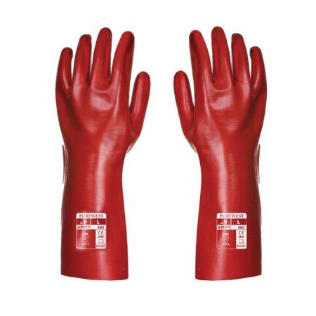 Rękawice robocze PCV 35cm A435 Portwest