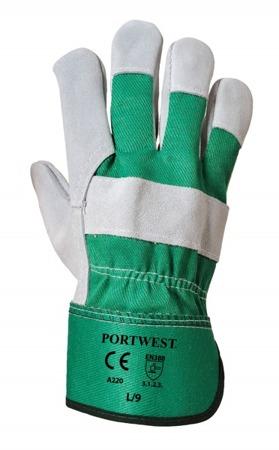 Rękawice robocze z dwoiny bydlęcej A220 Portwest